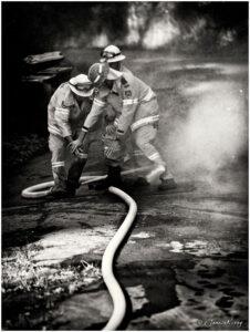 Who's got the hose?